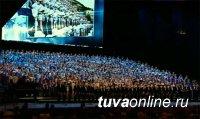 Пятеро юных солисток из Тувы приняли участие в выступлении Детского хора России в Москве