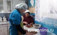 Монгун-тайгинская семья поблагодарила власти Тувы за проект «Корова-кормилица»