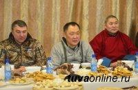 Жители Тувы встретили Новый год по лунному календарю обрядами при 45-градусном морозе