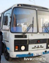 """В ночь прихода Шагаа автобусы """"КызылГорТранса"""" бесплатно перевезли 459 пассажиров"""
