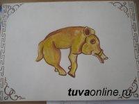 Юные художники Монгун-Тайги завоевали большинство наград в конкурсе на лучший образ Символа Года