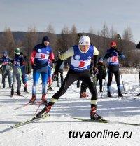 Самые быстрые в лыжных гонках среди силовиков Тувы - команда Росгвардии