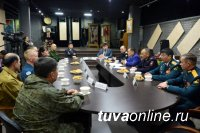 Глава Тувы поприветствовал военнослужащих – активистов по работе с молодежью
