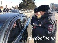 В Кызыле «Женский батальон» поздравил водителей в честь Дня защитника Отечества