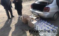 В Туве госавтоинспекторами выявлено два факта незаконной перевозки алкогольной продукции