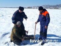 В Туве проверены все ледовые переправы