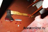 27-летний житель Тувы зарубил топором двух женщин