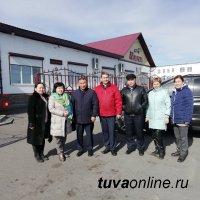 Управленческий десант Кызыла оказал методическую помощь Барун-Хемчикскому кожууну Тувы