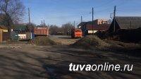 Мэрия Кызыла оперативно отреагировала на коллективную жалобу жителей ул. Мугур