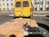 Полиция Тувы не дремлет. В 4 утра была задержана ГАЗЕЛЬ с нелегальным алкоголем