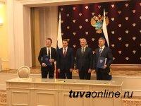 С участием куратора Тувы Орешкина подписан договор РЖД и ТЭПК о строительстве ж/д Кызыл-Курагино
