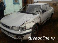 В Туве госавтоинспекторы задержали водителя, скрывшегося с места ДТП со смертельным исходом