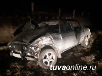 В Туве по вине водителей без права управления произошло три ДТП: один человек погиб, семеро пострадали