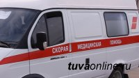 В Кызылском районе в результате опрокидывания автомобиля пострадал несовершеннолетний ребенок