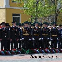 Пограничники Тувы поздравили с Днем победы 100-летнего пограничника-ветерана Ивана Соколова