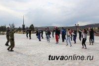 В Туве прошли мероприятия в рамках Всероссийской акции «Зарядка со стражем порядка»