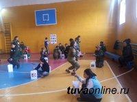 Тува: В день проведения слета школьных лесничих в Балгазыне выпал снег