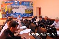 В МВД по Республике Тыва состоялось заседание Оперативного штаба по профилактике правонарушений
