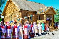Тува: В селе Черби открылся Музей русского быта