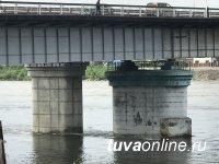 В Кызыле сегодня ночью до 4 ч утра будет перекрыт для ремонтных работ Коммунальный мост