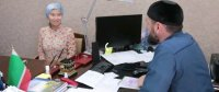 Уроженка Тувы приняла в Чеченской республике ислам