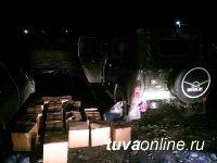 В Кызыле госавтоинспекторами в очередной раз выявлен факт незаконной перевозки алкогольной продукции