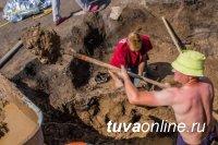 В Туве завершился второй сезон археологической экспедиции РГО на скифском кургане IX века до н.э