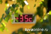 В Туве 10 июля ожидается сильная жара до +35