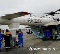 В Бай-Тайгинский кожуун Тувы, где произошла авария, вылетели спасатели и психологи