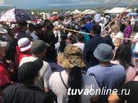 В Туве установили мировой рекорд по варке тувинского супа из баранины - кара-мун!