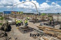 В Кызыле дан старт строительству школы на 825 мест на левобережных дачах