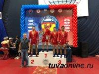 Саян Хертек завоевал золото в турнире по самбо в городе Кстово