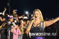 Анна Семенович выступила в Туве на Дне шахтёра