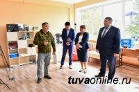 Глава Тувы проверил готовность социальных объектов в Чаа-Хольском районе