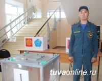 На выборах в Туве дежурят более 200 сотрудников МЧС России