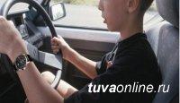В Туве два ДТП с подростками, без спроса севшими за руль автомашин