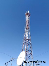В селе Мугур-Аксы впервые появился мобильный интернет