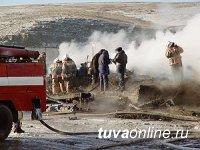 В Кызыле хоронят сгоревших детей