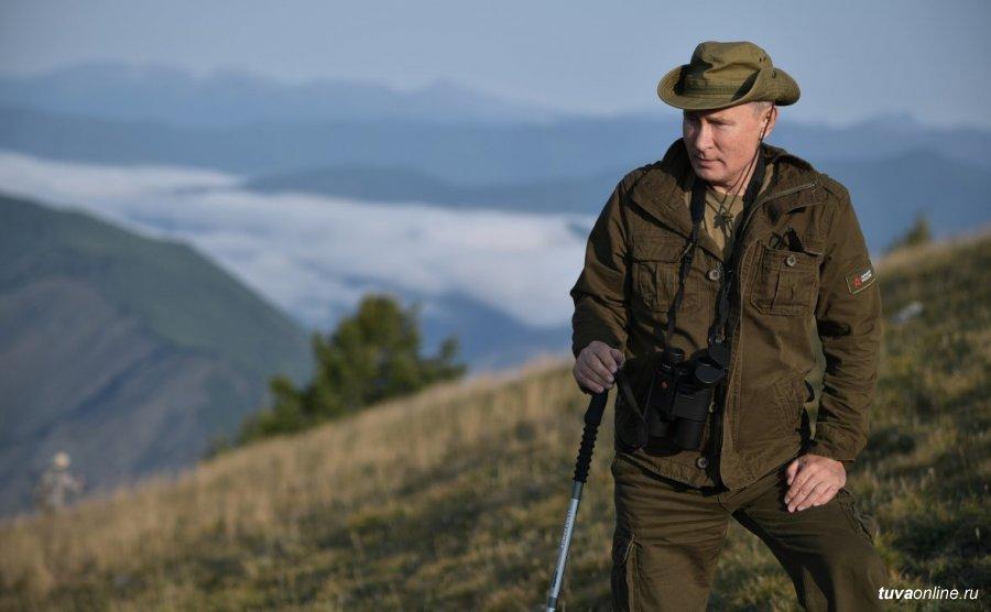 Песков рассказал о поездке Путина в тайгу накануне дня рождения