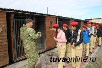 Юные друзья полиции из Тоджинского района посетили с экскурсией  подразделения МВД по Республике Тыва