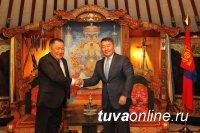 Глава Тувы намерен обсудить с президентом Монголии ряд вопросов в сфере ж/д сообщения и энергетики