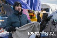 Шапки, перчатки, носки из верблюжьей и сарлычьей шерсти - в Монголии у границы с Тувой завершилась ярмарка