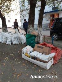 Кызыл: Административный штраф за строительный мусор, складированный на обочине дорог, во дворах