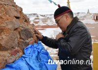 Глава Тувы посетил монгольскую Шамбалу и новый цементный завод