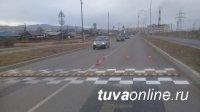 """В Кызыле на Магистральной улице установлены """"лежачие полицейские"""""""