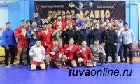 В Туве прошел первый Межрегиональный турнир по боевому самбо
