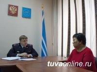 В Туве новый министр МВД провел первый личный прием граждан