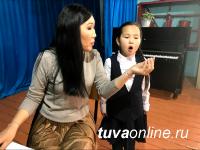 В Чадане (Тува) оперная певица Дамырак Монгуш провела мастер-класс по академическому вокалу для талантливых детей