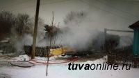 В Туве объявлена акция «Им нужна помощь» для погорельцев села Целинное