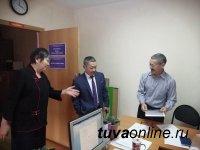 Новый председатель Общественной палаты Тувы нагрянул с визитом к своим соратникам